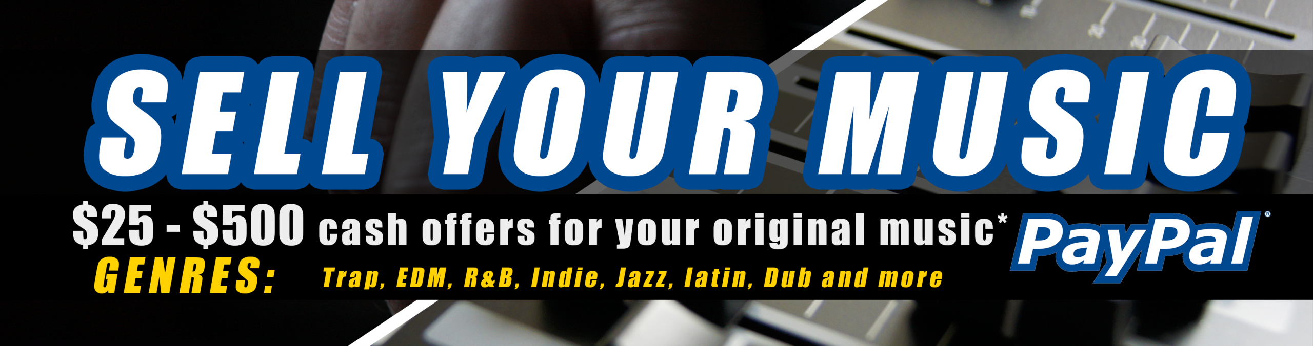 Audio Exchange Banner Ad Sell Your Music